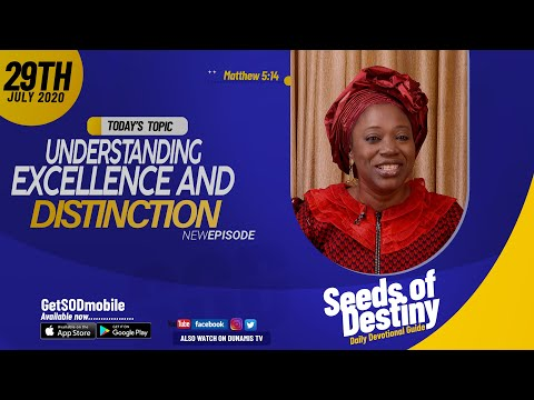 Dr Becky Paul-Enenche - SEEDS OF DESTINY - WEDNESDAY JULY 29, 2020
