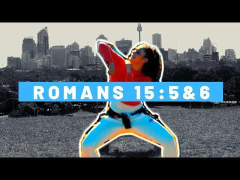 Memory Verse Song - Romans 15:5&6 (From Kidsong 2019)