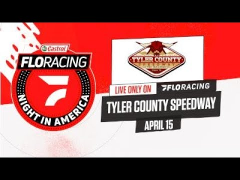 LIVE: Castrol FloRacing Night in America at Tyler County Speedway 4.15.2021 - dirt track racing video image