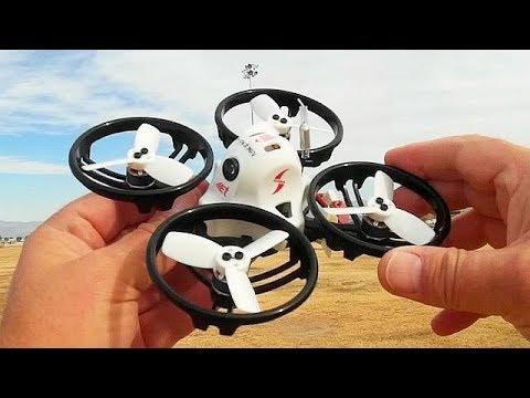 ET115 115mm Brushless Micro FPV Racer Drone Flight Test Review - UC90A4JdsSoFm1Okfu0DHTuQ