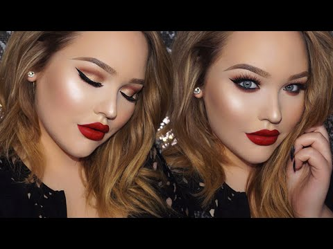 ADELE Classic Glam 2016 BRIT Awards Inspired Makeup Tutorial - UCzTKskwIc_-a0cGvCXA848Q