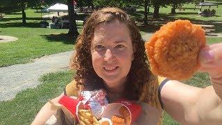 Mukbang  | Wendy's Spicy Chicken Nuggets