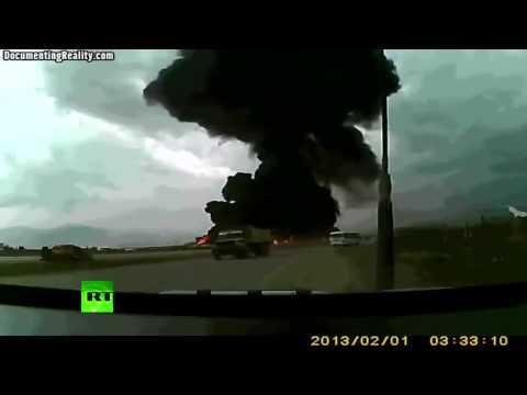 Afganistandaki düşen uçak