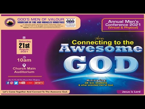 God's Men of Valour 2021 Conference (Dr D. K. Olukoya)