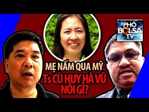 Blogger Mẹ Nấm qua Mỹ, Tiến sĩ luật Cù Huy Hà Vũ nói gì?