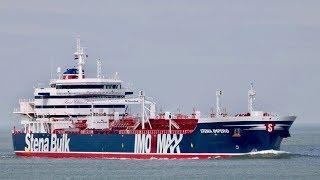 Iran seizes British oil tanker in the Strait of Hormuz