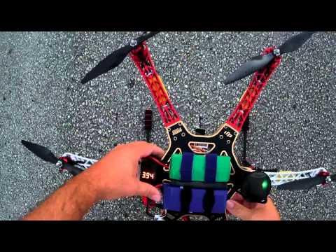 DJI F550 Flamewheel Hexacopter Final Battery & Tests - UC8isNFyJesy4BfdaR0M7qjQ