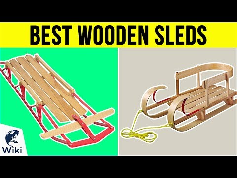 8 Best Wooden Sleds 2019 - UCXAHpX2xDhmjqtA-ANgsGmw