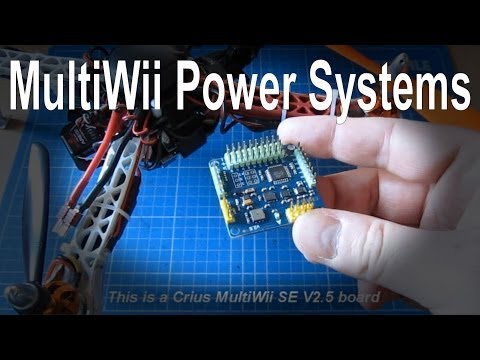 How to connect the power system (ESC, BEC and power board) in your multirotor/quadcopter - UCp1vASX-fg959vRc1xowqpw