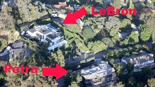 LeBron James' $23 Million Dollar Mansion Is Across The Street From Petra Ecclestone's New House
