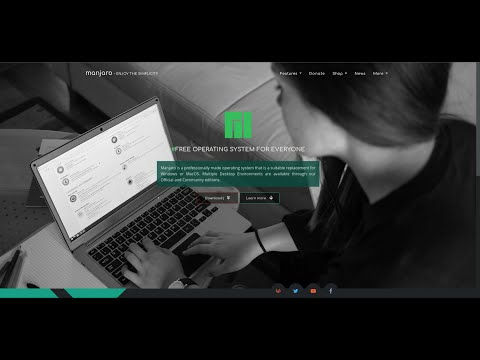 Installing Manjaro 2020 w/ Gnome DE Using Manj-Architect on LVM