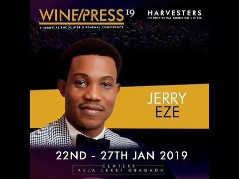 WINEPRESS 2019  Pst Jerry Eze  Sat 26th Jan, 2019