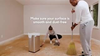 Floorigami – Tile Install