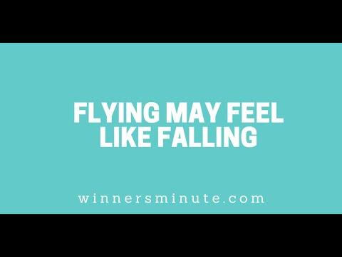 Flying May Feel Like Falling // The Winner's Minute With Mac Hammond