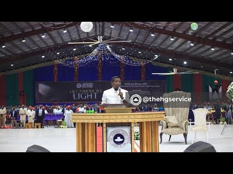 PASTOR E.A ADEBOYE SERMON 2019 - 2020 CROSSOVER  SERVICE  THE BATTLE IS NOT YOURS