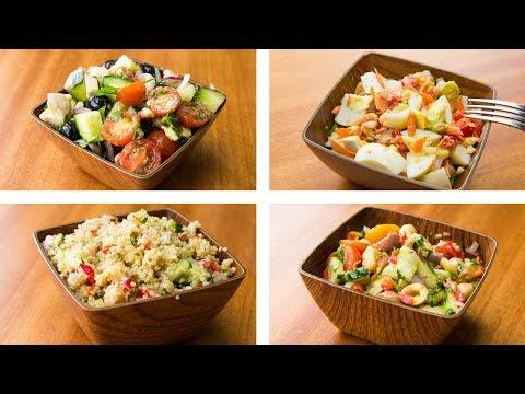4 Healthy Salad Recipes For Weight Loss | Easy Salad Recipes - UCr_-k8z6_RKKxkjWkt8RFvA