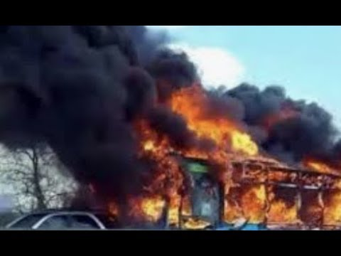 Breaking Italy School Bus Ablaze 51 Students