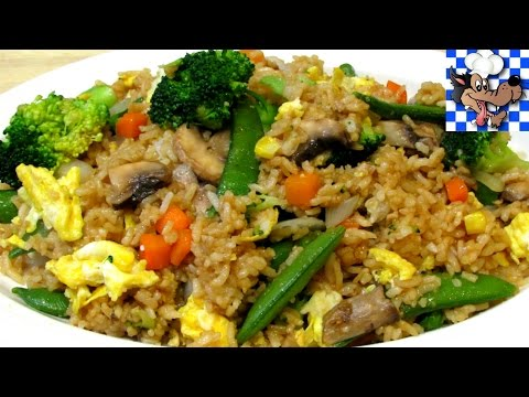 How to make Fried Rice - Vegetable Fried Rice - Chinese Recipe - UCnJm8wC-ABOvOn2piAt2WYg