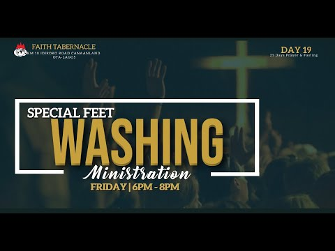 DOMI STREAM: PRAYER & FASTING\SPECIAL FEET WASHING     22, JANUARY 2021  FAITH TABERNACLE OTA