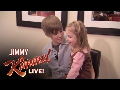 Anchor Jimmy Surprises Bieber Fan