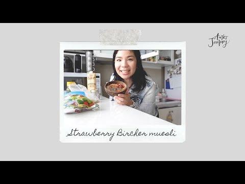 Aarks' Journey - Ep.12 Strawberry Bircher muesli