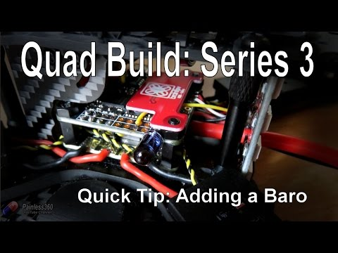 (6/7) Quad Build Series 3 - Quick Tip: The Barometer you can add to the BrainFPV RE1 - UCp1vASX-fg959vRc1xowqpw