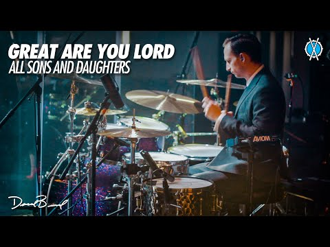 Great Are You Lord Drum Cover // All Sons and Daughters // Daniel Bernard