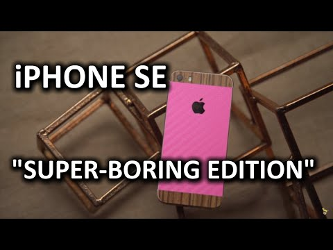 iPhone SE Review - Could this device be any more boring?? - UCXuqSBlHAE6Xw-yeJA0Tunw