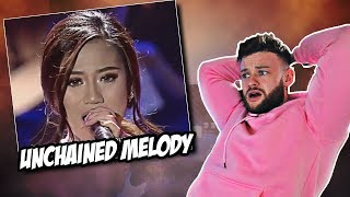 Reaction to Morissette Amon - Unchained Melody  |  WHAT A PERFORMANCE!
