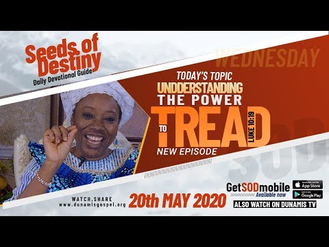 Dr Becky Paul-Enenche - SEEDS OF DESTINY  WEDNESDAY, 20 MAY, 2020