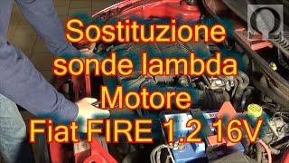 Sostituzione sonda lambda Fiat Punto (188) 1.2 16 valvole fire
