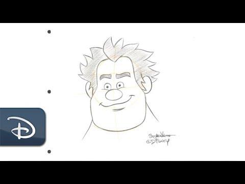 How-To Draw Wreck-It Ralph | Disney Parks - UC1xwwLwm6WSMbUn_Tp597hQ