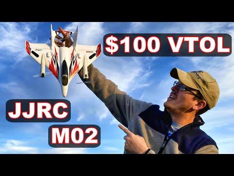 VTOL Plane JJRC M02 Brushless Power RC Plane - TheRcSaylors - UCYWhRC3xtD_acDIZdr53huA