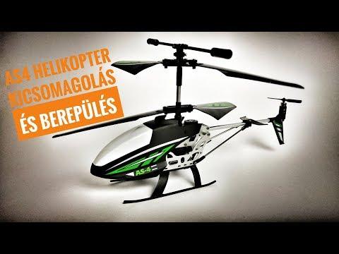 AS4 RC helikopter kicsomagolás és berepülés - UCrD-UfA4UwPjLnGM3E_UcuQ