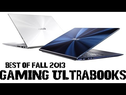 Best Gaming Ultrabooks (Q4 2013) - UCmY5lv5l2RYGOKWKGXLmGJw