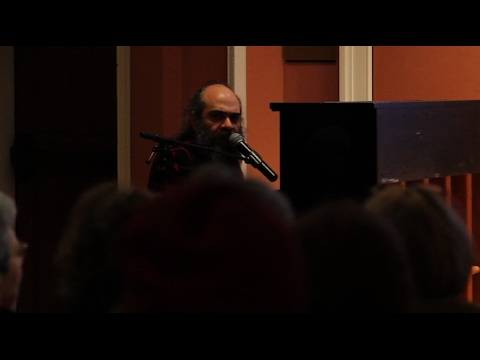 Historian and singer-songwriter Anna Shternshis and Psoy Korolenko recreate lost Yiddish songs written by amateur poets and songwriters during the Second World War in the Soviet Union. Their lecture and performance was hosted by the Carolina Center for Jewish Studies as an event to remember and honor the Soviet Jewish people who were killed during the Holocaust.