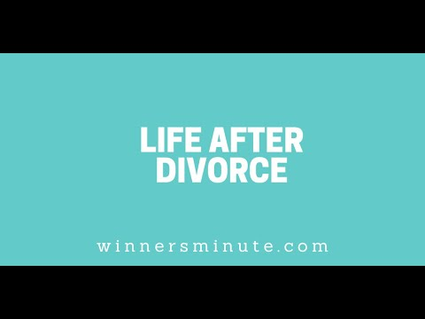 Life After Divorce // The Winner's Minute With Mac Hammond