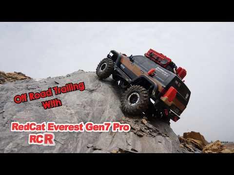 RedCat Racing Everest Gen7 Pro 4x4 Off Road Trailing - UCsFctXdFnbeoKpLefdEloEQ