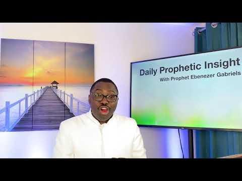 Prophetic Insight Mar 9th, 2021