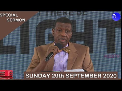 PASTOR E.A ADEBOYE SERMON - THE WONDERS OF THE STANDARD OF GOD