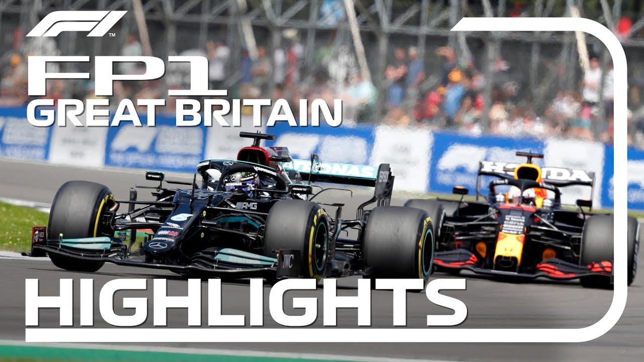 FP1 Highlights | 2021 British Grand Prix