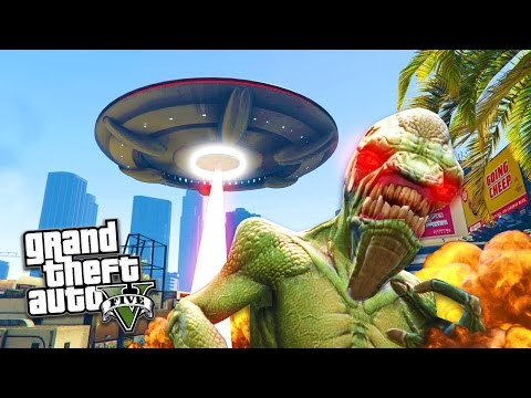 GTA 5 PC Mods - UFO MOD w/ ABDUCTION & DESTRUCTION! GTA 5 UFO Mod Gameplay! (GTA 5 Mods Gameplay) - UC2wKfjlioOCLP4xQMOWNcgg