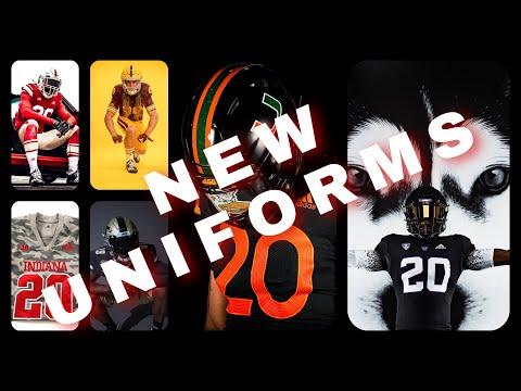 ADIDAS unveils NEW Indiana, Georgia Tech, Arizona State, Louisville, Washington, and Miami Uniforms