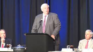 Gov. Justice speaks at 2019 Spirit of the Valley Award Luncheon