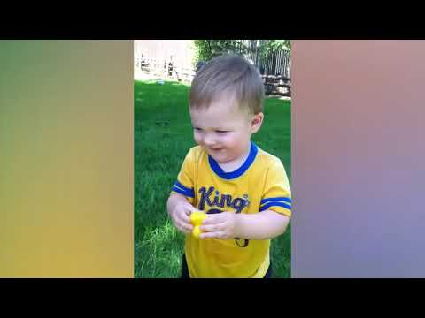 Try Not To Laugh   Funniest Baby's Outdoor Moments