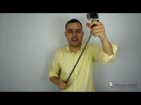 How-to mount GoPro Camera to Selfie Stick