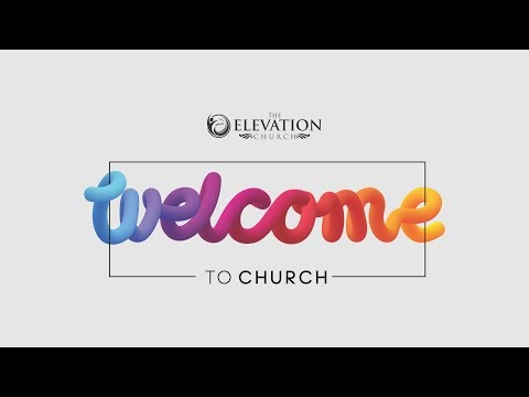 Sunday Second Service Live Streaming  The Elevation Church