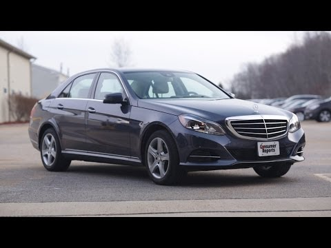 Talking Cars with Consumer Reports #23: A New #2: Mercedes-Benz E250 - consumerreports