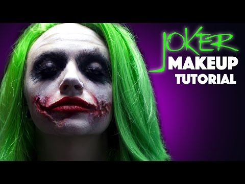 Joker Makeup Tutorial Audiomanialt - Joker-makeup-tutorial
