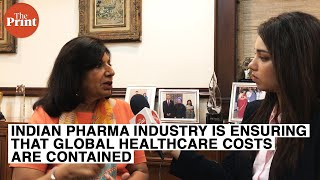 Indian pharma industry is ensuring that global healthcare costs are contained: Kiran Mazumdar Shaw